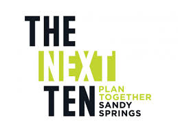 Let's Make sure Sandy Springs is GREEN for the Next 10!