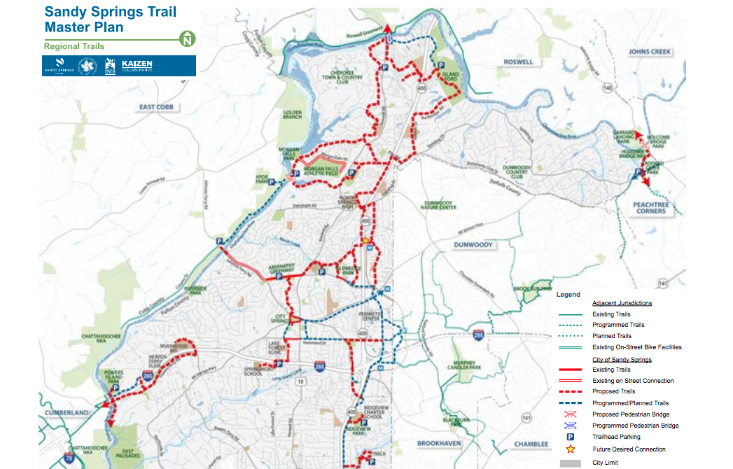 Sandy Springs Trail Master Plan
